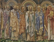 Edward Burne-Jones, mosaico absidale