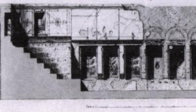 Auditorium Mecenate disegno XIX secolo