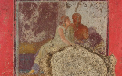 Affresco domus Assisi
