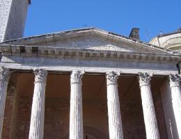 Tempio di Minerva, I secolo a.C.