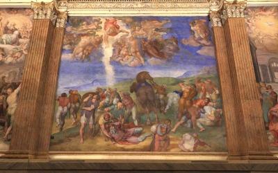 Il restauro della Cappella Paolina in Vaticano